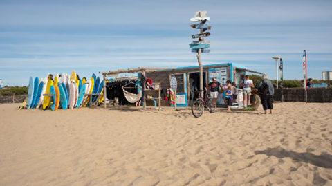 Club de la glisse, surf, plage de de Marinella 64600 Anglet