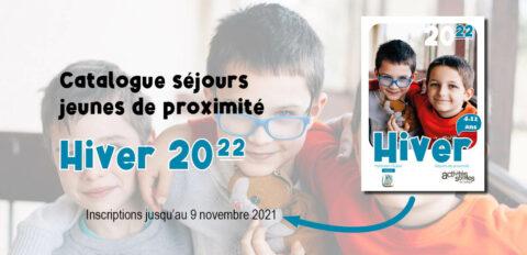 Séjours jeunes de proximité Hiver 2022